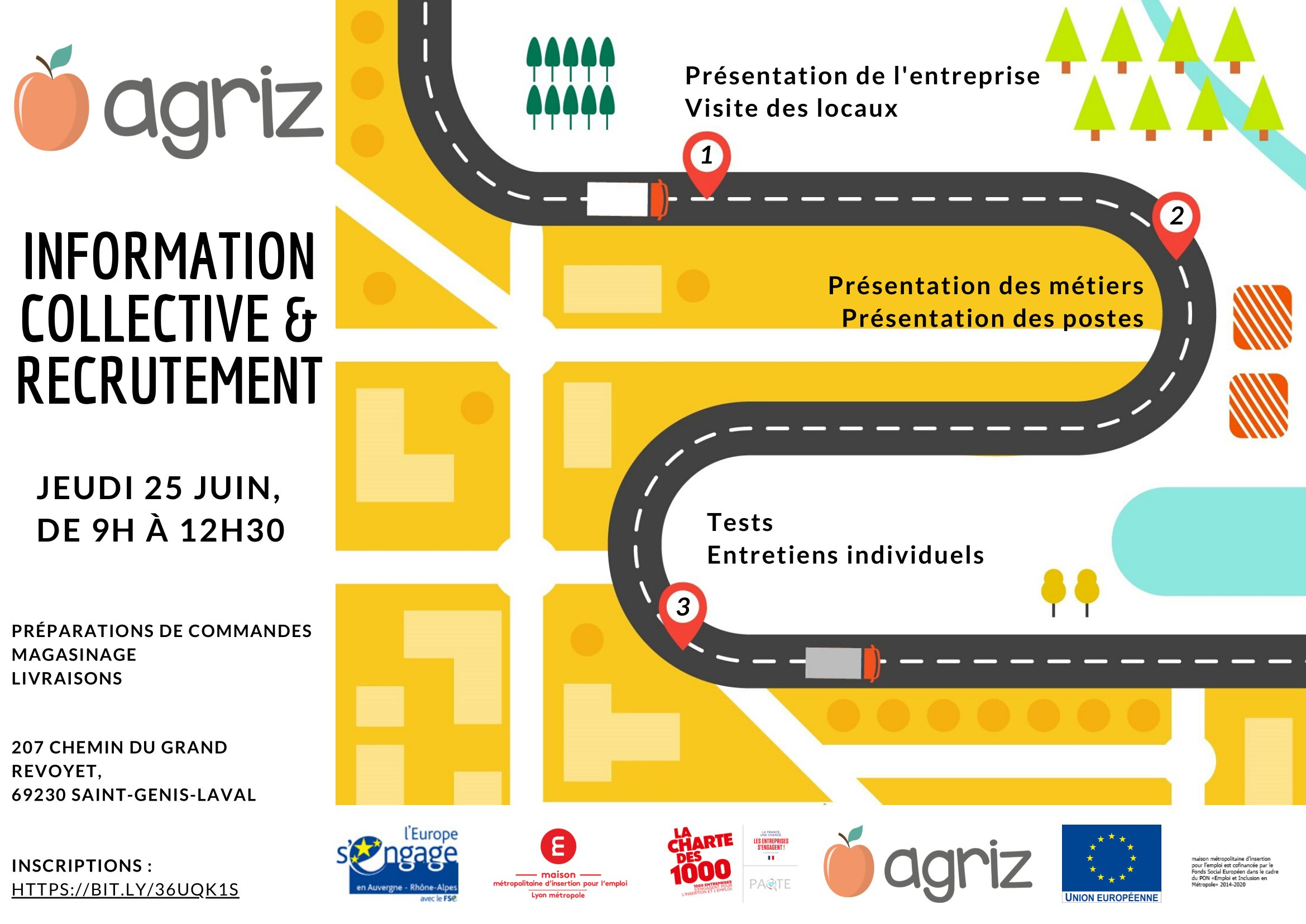 AGRIZ Info coll recrutements